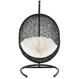 Encase Rattan Outdoor Patio Swing Chair