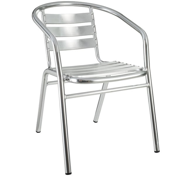Perch Modern Aluminum Outdoor Accent Chair