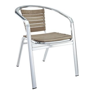 Express Modern Aluminum Outdoor Accent Chair