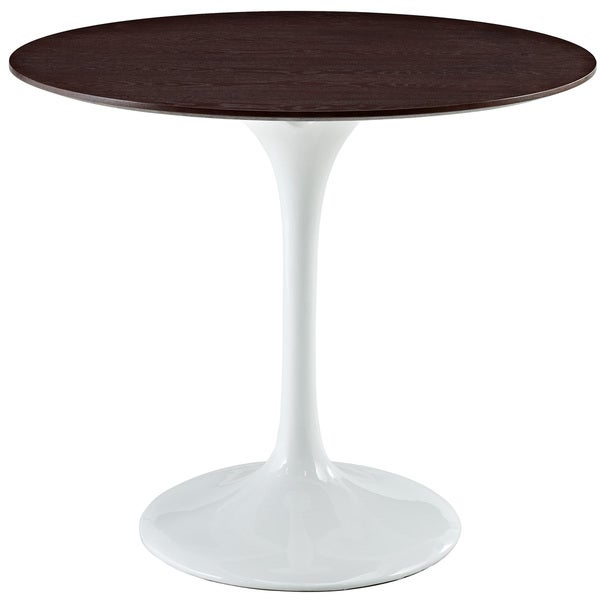 Eero Saarinen Style 36-inch Walnut Top Tulip Dining Table