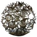 Haitian Metal Art 'School of Fish' Wall Art (Haiti)