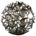 Haitian Metal Art 'School of Fish' Wall Art (Haiti)