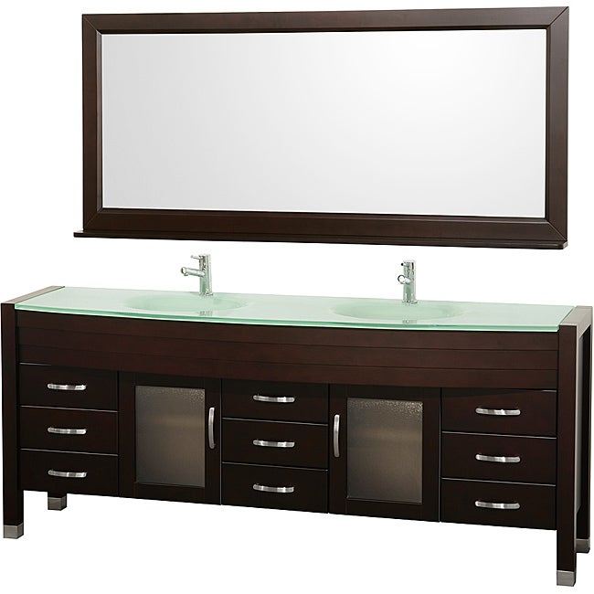 Wyndham Collection Daytona Double Bathroom Vanity Set  14230567