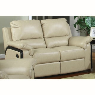 Brian Bonded Leather Loveseat