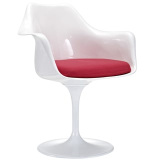Arm Chair with Red Cushion