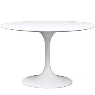 Eero Saarinen Style White 40-inch Tulip Dining Table
