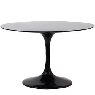Eero Saarinen Style 48-inch Black Tulip Dining Table