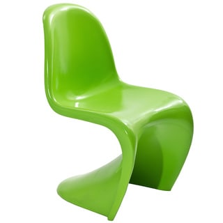 """S"" Style Green Chair"