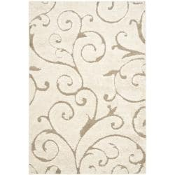 Safavieh Ultimate Cream/Beige Polypropylene Shag Rug (11' x 15')