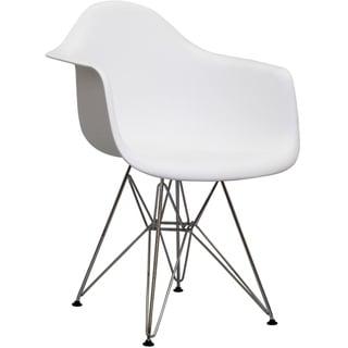 Paris Wire White Arm Chair