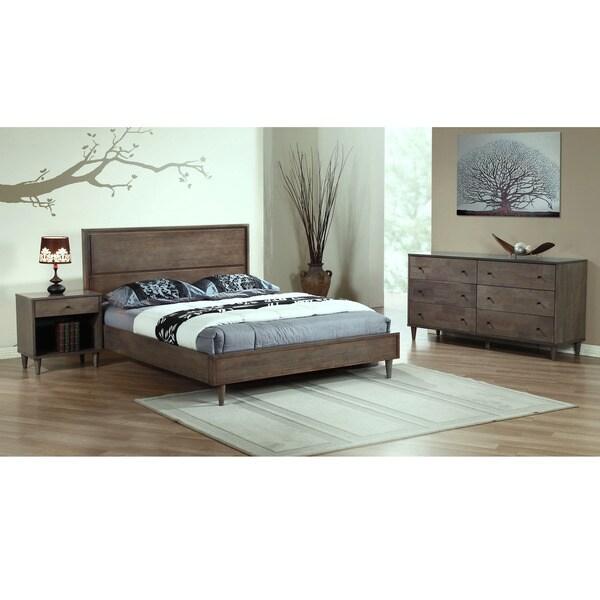 Vilas Light Charcoal Queen Bed