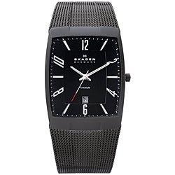 Skagen Men's Black Titanium Watch