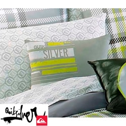 Quiksilver Disruptor Grey Microfiber Decorative Pillow