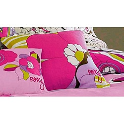 Roxy Hot House Floral Decorative Pillow