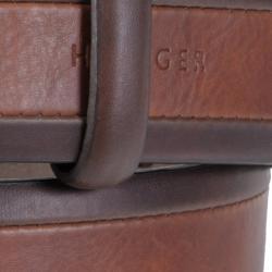 Tommy Hilfiger Men's Two-tone Genuine Leather Belt