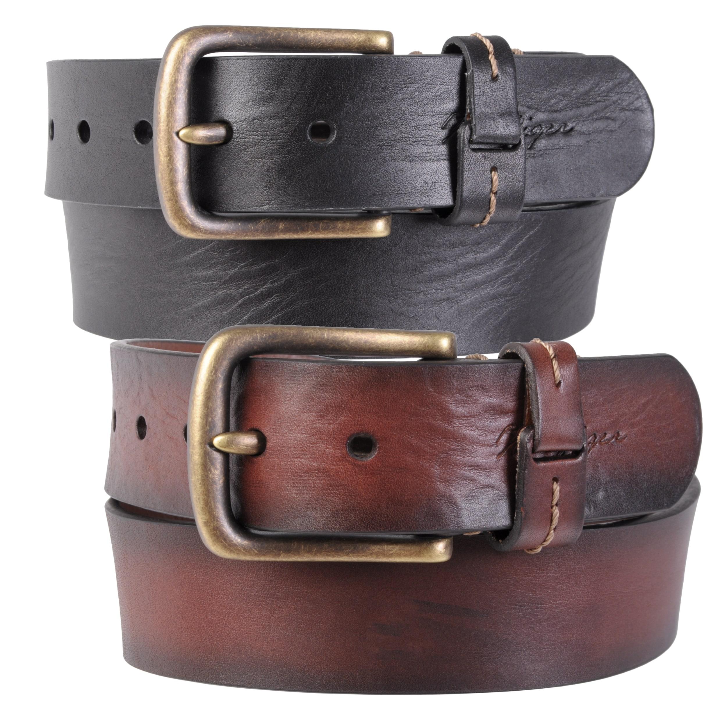 Tommy Hilfiger Men's Genuine Leather Belt