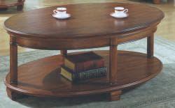 Soho Veneer Oval Cocktail Table