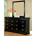 'Marikina' Black Dresser with Mirror