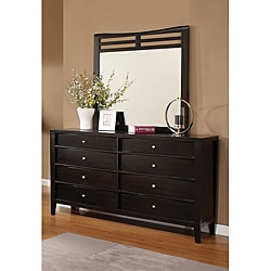Furniture of America 'Visayan' Espresso Dresser with Mirror