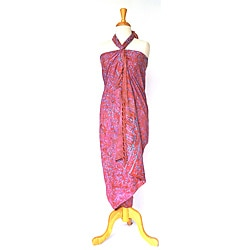 Abstract Pink Sarong (Indonesia)