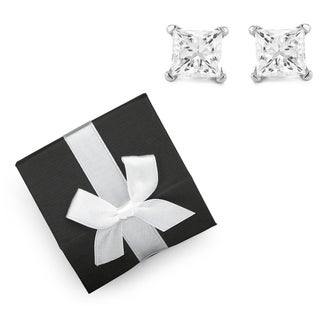 14k Gold 1/5ct TDW Diamond Stud Earrings  with Gift Box (H-I, I2-I3)
