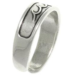 CGC Sterling Silver Rolling Wave Toe Ring