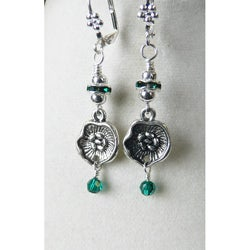 'Elizabeth II' Dangle Earrings