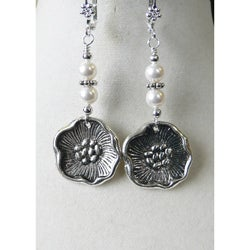 'Elizabeth I' Dangle Earrings