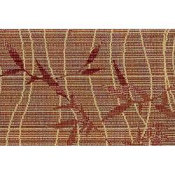 Nourison Calvin Klein Home Brown Wool Rug (5'6