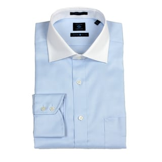 Joseph Abboud Men's Blue/ White Dress Shirt FINAL SALE