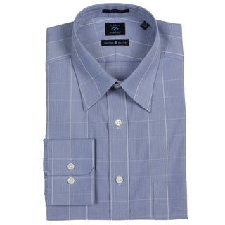 Joseph Abboud Men's Blue/ White Dress Shirt