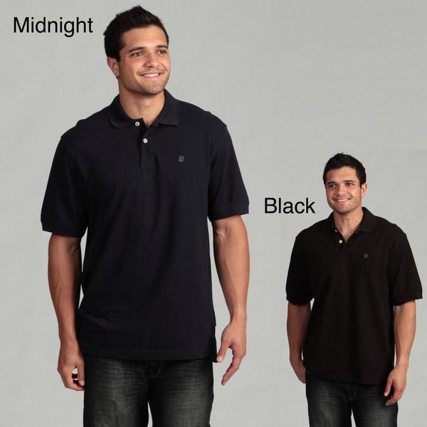 IZOD Men's Short-sleeve Solid Pique Polo Shirt