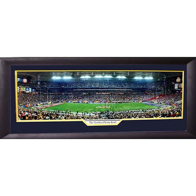 2008 Tostitos Fiesta Bowl Panoramic Frame