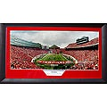 University of Wisconsin 'End Zone' Panoramic Framed Photo