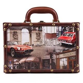 Nicole Lee Camilla Women's Vintage 14-inch Briefcase