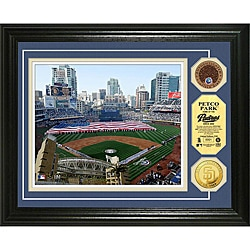 Highland Mint PETCO Park Gold and Infield Dirt Coin Photo Mint