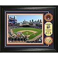Comerica Park Gold and Infield Dirt Coin Photo Mint