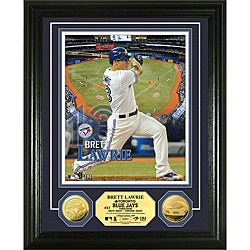 Brett Lawrie Gold Coin 'Showcase' Photo Mint