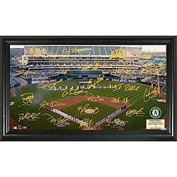 Oakland A's Signature Field Frame