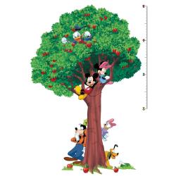 Mickey and Friends Peel and Stick Growth Chart
