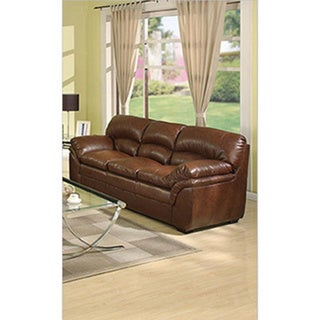 Joyce Bonded Leather Sofa