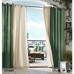 Gazebo Indoor/ Outdoor 96-inch Window Stripe Panel