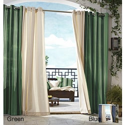 Gazebo Stipe Grommet Top 96 inch Indoor/ Outdoor Curtain Panel