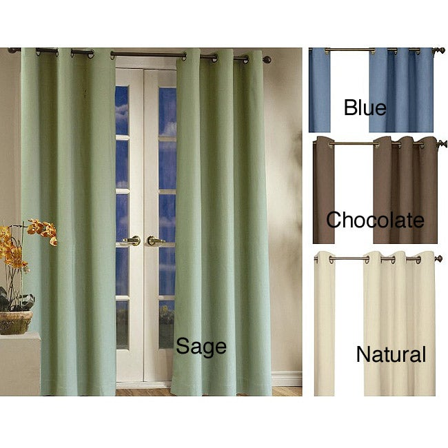 Overstock.com Weathermate Thermalogic Insulated 84-inch Curtain Panel Pair at Sears.com