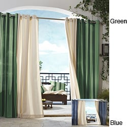 Gazebo Indoor/ Outdoor 84-inch Window Stripe Panel