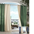 Gazebo Stipe Grommet Top 84 inch Indoor/ Outdoor Curtain Panel