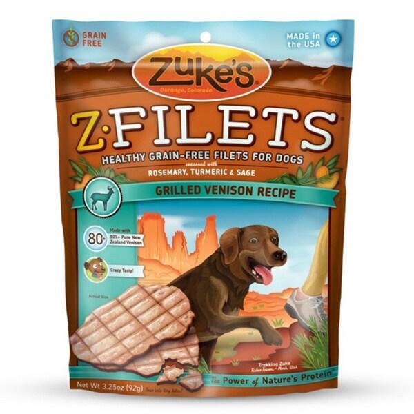 Zuke Dog Z-Fillet Venison 3.25 oz