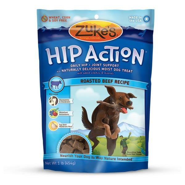 Zuke Dog Hip Action Beef 16 oz