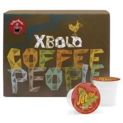 Coffee People Dark Roast, Jet Fuel, K-Cup for Keurig Brewers (96 K-Cups)