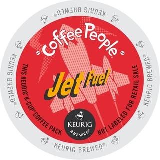 Coffee People Dark Roast, Jet Fuel, K-Cups for Keurig Brewers